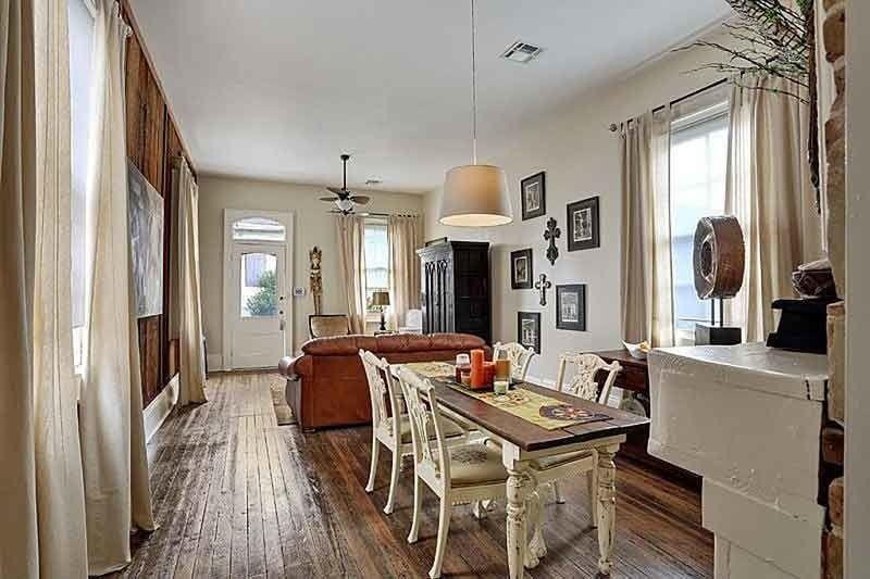 A Pretty Shotgun House Interior Ready To Roll Pinterest Shotgun House Shotguns And Interiors