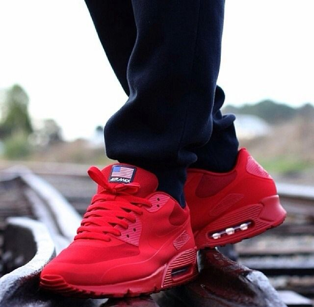 half off b1ff4 b1533 canada air max 90 hyperfuse independence day red fad76 1bb2e
