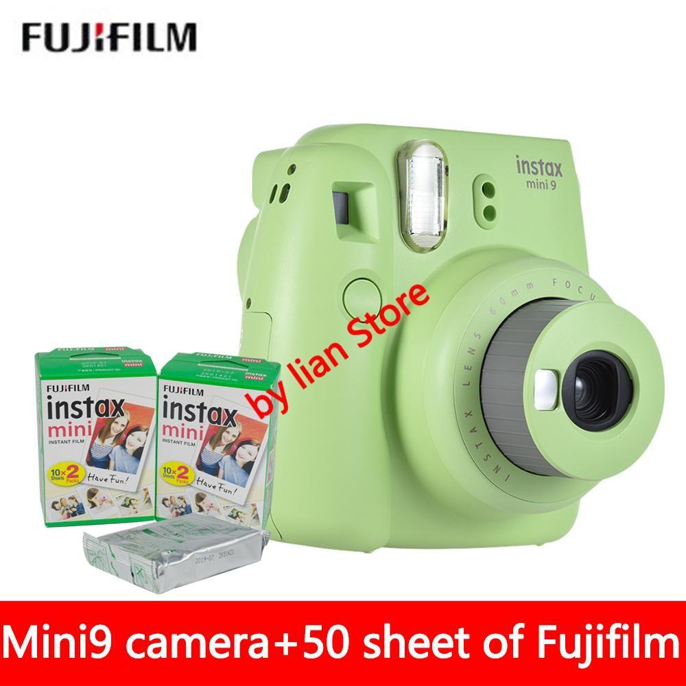 New 5 Colors Fujifilm Instax Mini 9 Instant Photo Camera 50