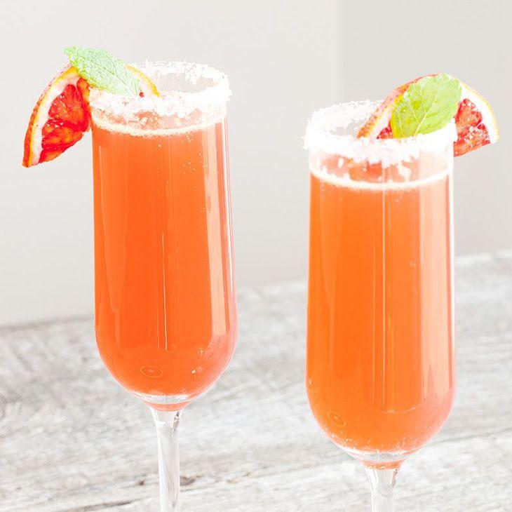 Cointreau Fizz Blood Orange Cocktail