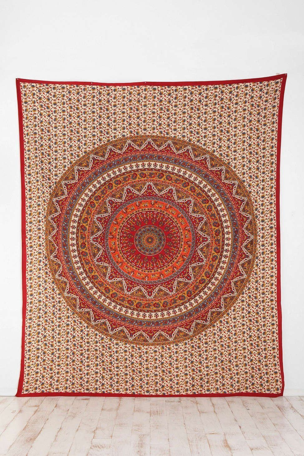 Hanging Rugs Trendyystuff Indian Mandala Tapestry Hippie Hippy Wall Hanging