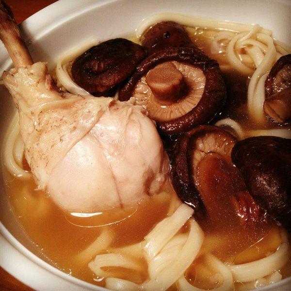 香菇雞湯麵