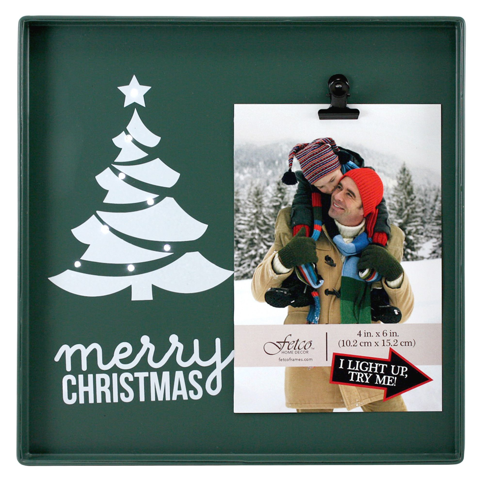 Snapshots Merry Christmas Picture Frame