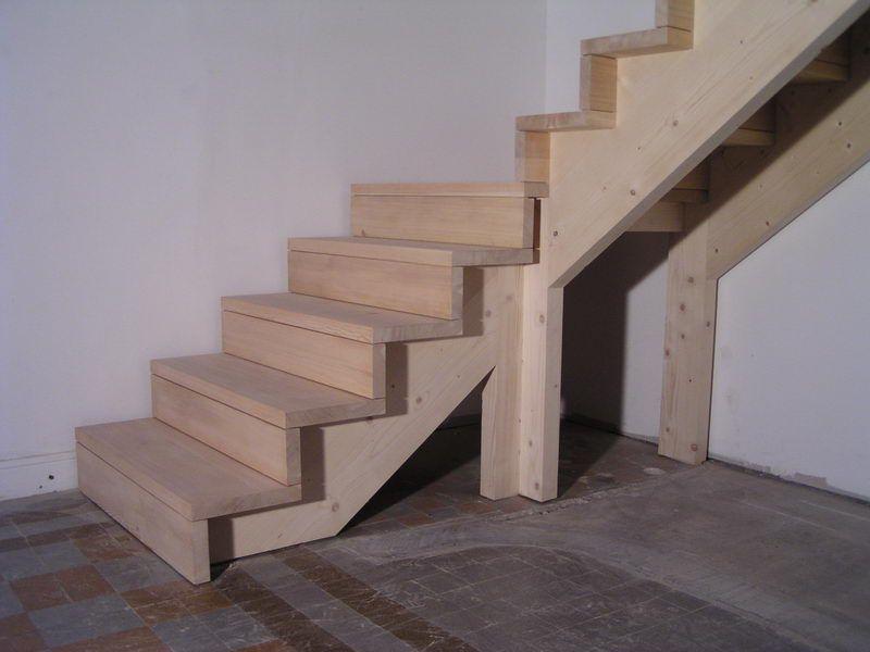 04 03 Escalier 1 4 Tournant Avec Palier Et Contre Marche