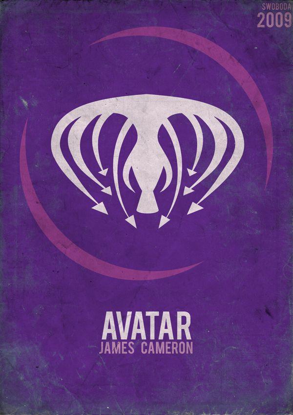 Avatar the matrix other films series minimalist for Art minimaliste musique