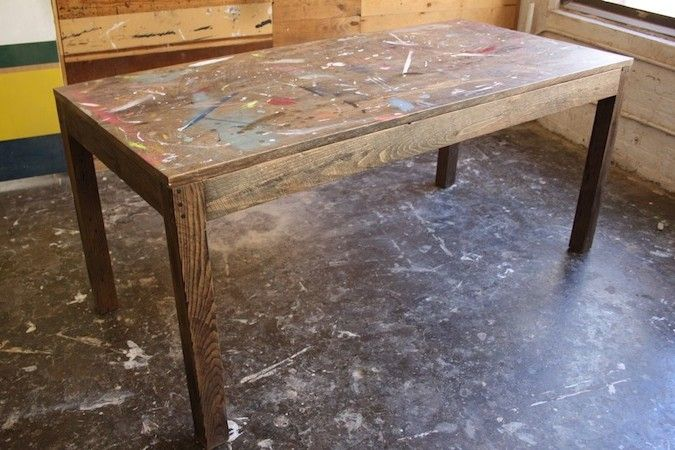 Rolling Painting Table - Click to enlarge