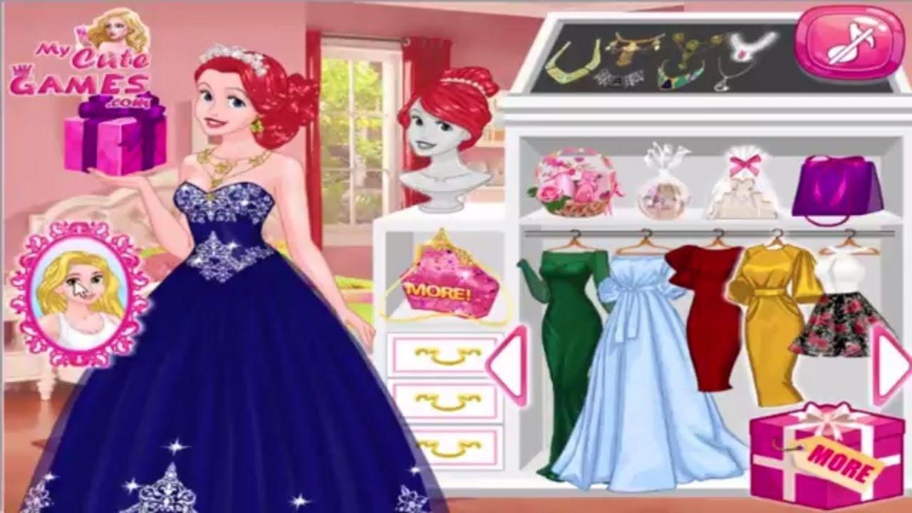 Disney Princess Games Frosty Princess Party Surprise | Best Disney ...
