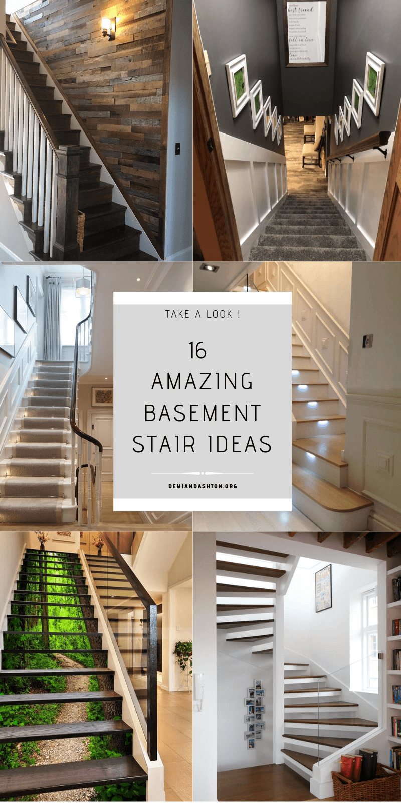 Looking For Basement Stair Ideas For Inspiration Here We Listed Ideas That Can Help To Transform An Ordinary Ba Basement Stairs Basement Design Basement Steps