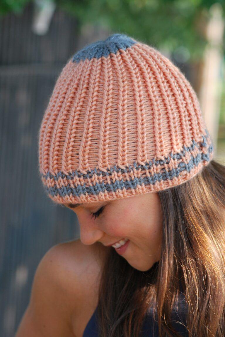 Chunky Open Braid Beanie | Loom knitting patterns free ...