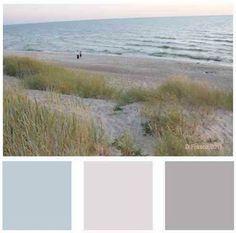 Beach Color Palette Love It Beach Color Palettes Beach