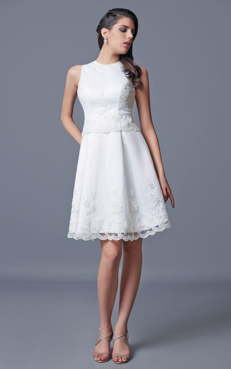 Sleeveless short satin dress with embroidery satin dresses satin