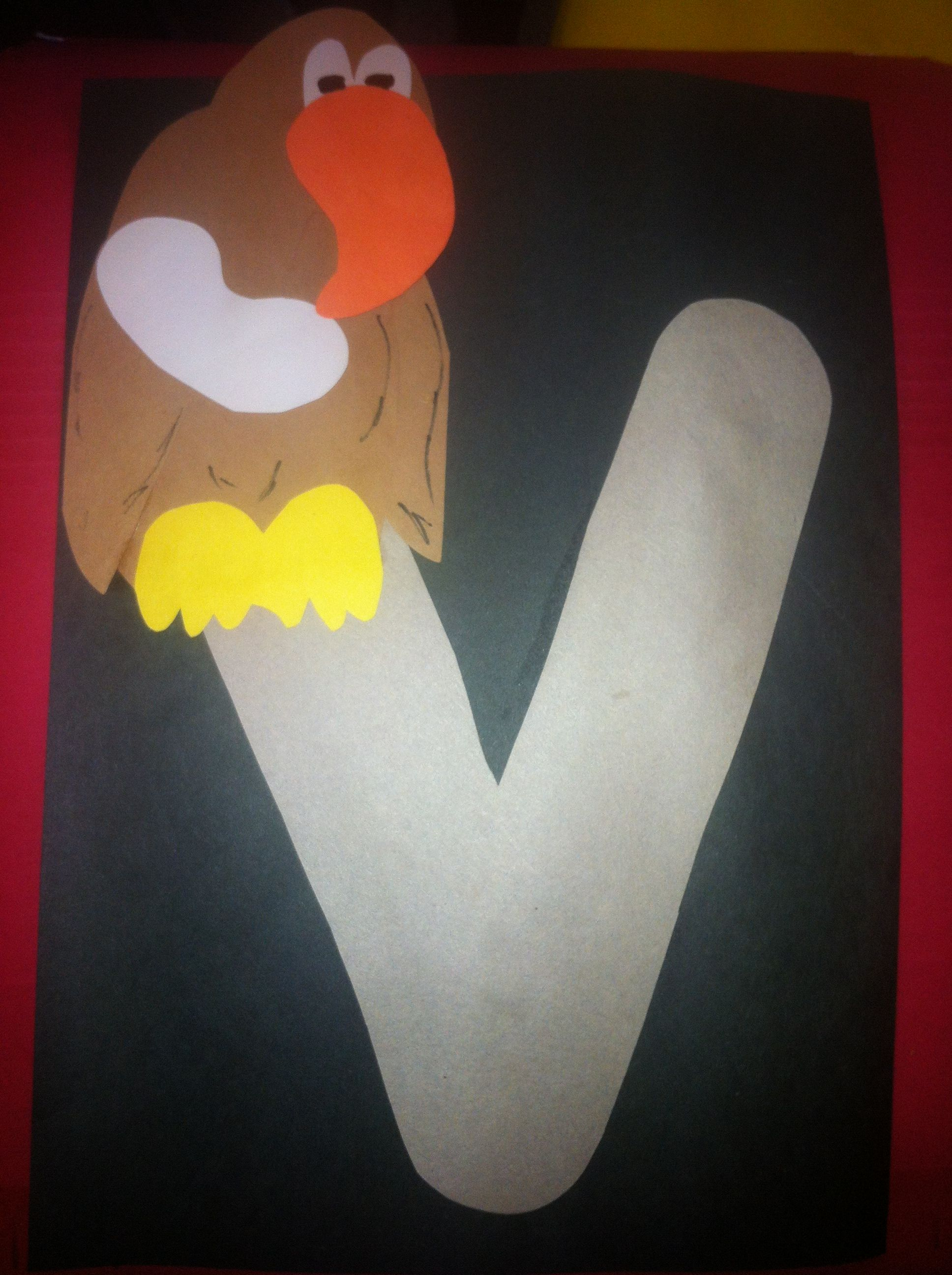 V Is For Vulture