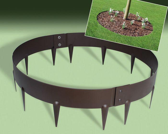 Everedge Garden Ring Edging Trees With Images Landscaping Around Trees Metal Garden Edging Steel Garden Edging