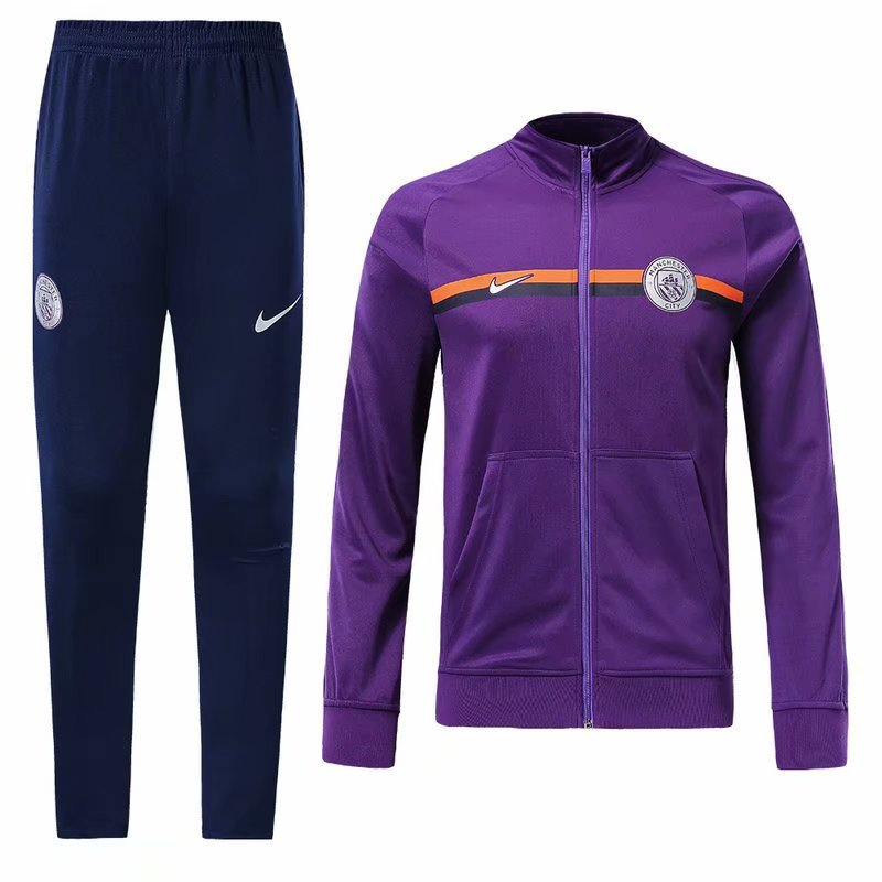 5ab176d75 Manchester City 18 19 Purple Men Jacket Tracksuit Slim Fit – zorrojersey