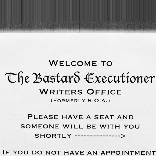 New writers. New show. New mistakes. #soafx #finalride #TBX