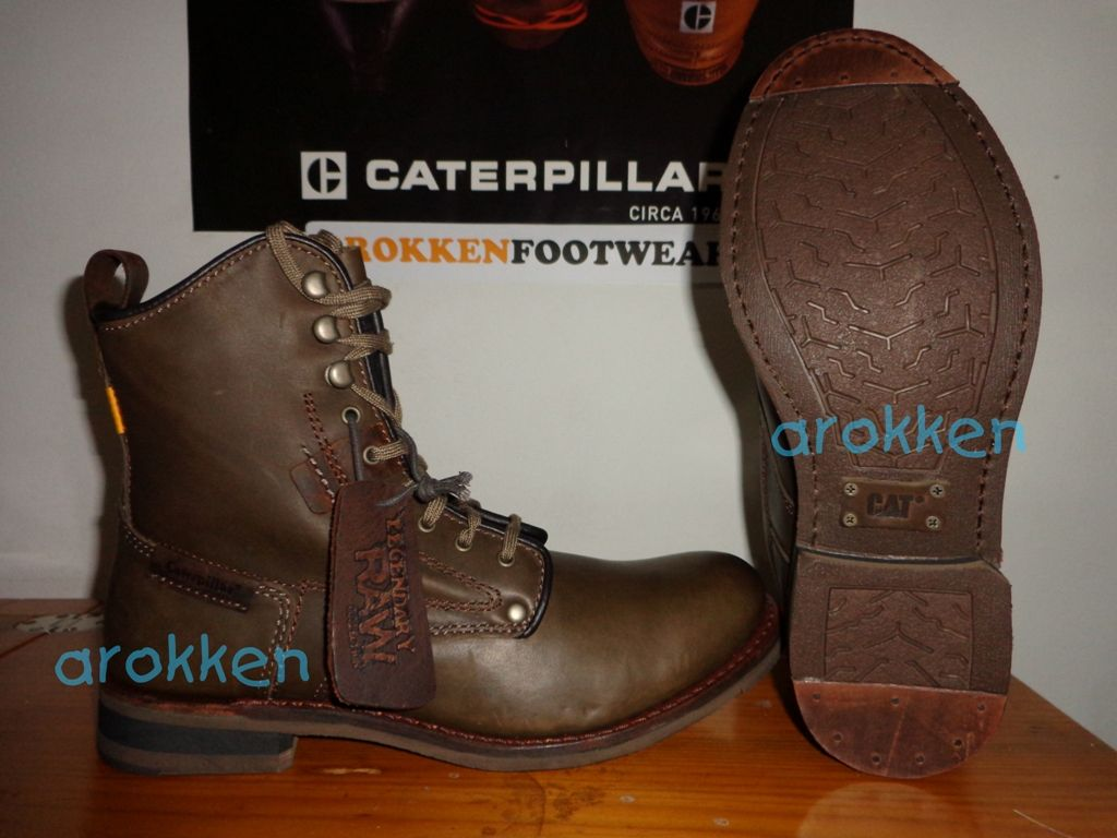 Caterpillar Legendary Raw Orson Tin Pan Authentic Moofeat Lunnar Tan Footwear Reseller In Indonesia