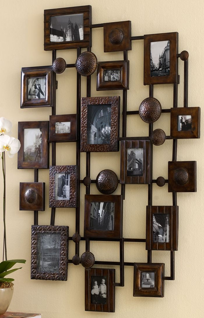 rustic decorating large collage picture frames collage on wall frames id=34201