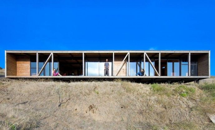 Espinoza Yoga House, Matanzas, Chile Innenarchitekt