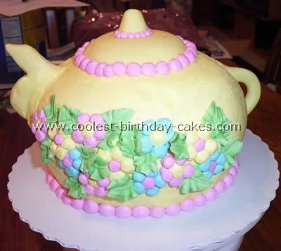 Coolest Childrens Birthday Cake Recipes Tea parties Birthday
