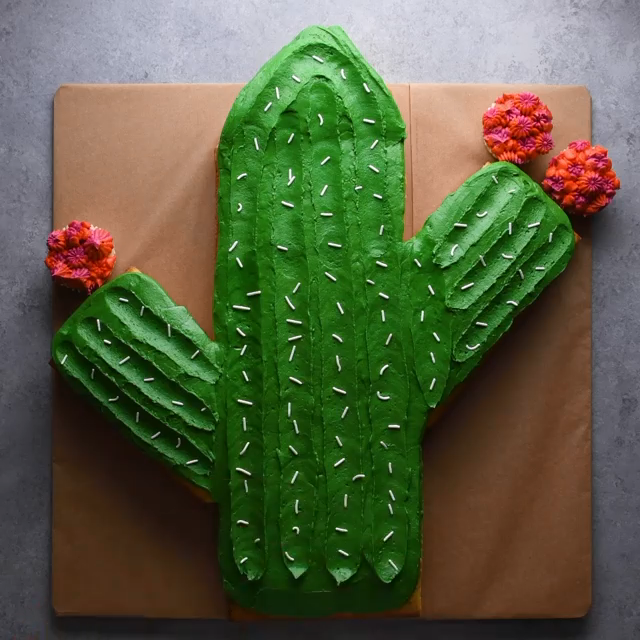Crazy Clever Sheet Cake Hacks! Which ones the best? 🚀🐶🌵 -   15 cake Art fun ideas
