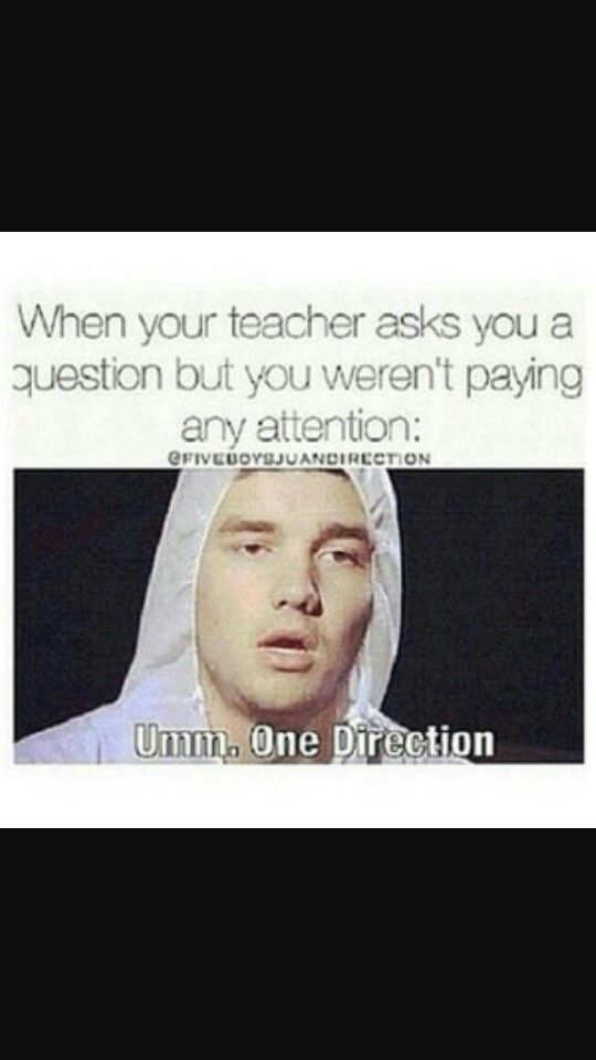 True. One Direction is the answer to everything | One ...