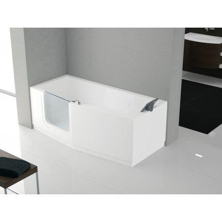 La #vasca di #Novellini serie Iris, con accesso facilitato ...