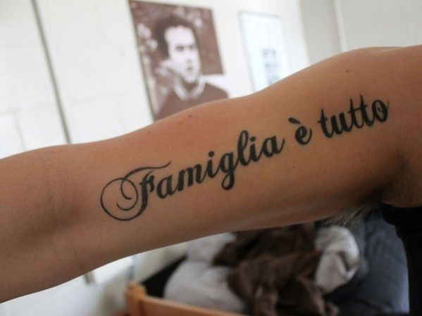 Epingle Par Tattoo Egrafla Sur Tatouage Phrase En Italien