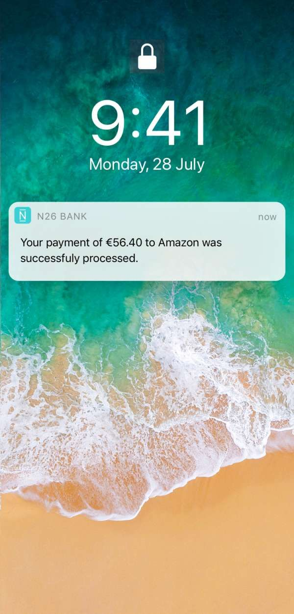 N26 is the Mobile Bank. Free bank account and Mastercard that you can manage directly from your phone. Open your bank account online in 8 minutes.