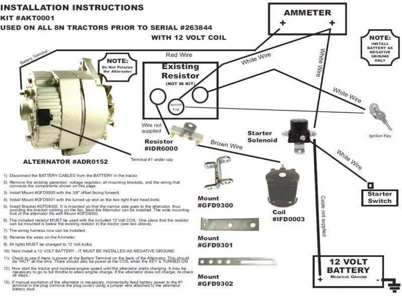 1 Wire Alternator Wiring Diagram Wiring Forums Pdf Download