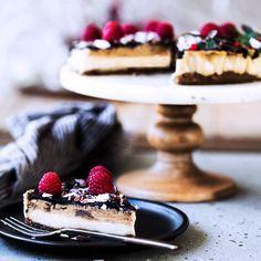 Caramel Vanilla Vegan Cheesecake