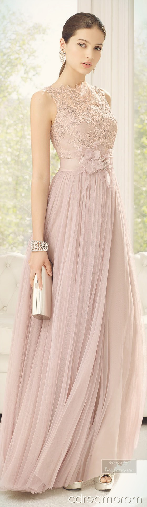 elegant prom dress prom gown | Dresses | Pinterest | Vestiditos ...