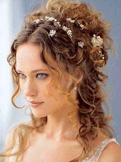 Stupendous 1000 Images About Wedding Hair On Pinterest Medium Length Hairs Hairstyle Inspiration Daily Dogsangcom