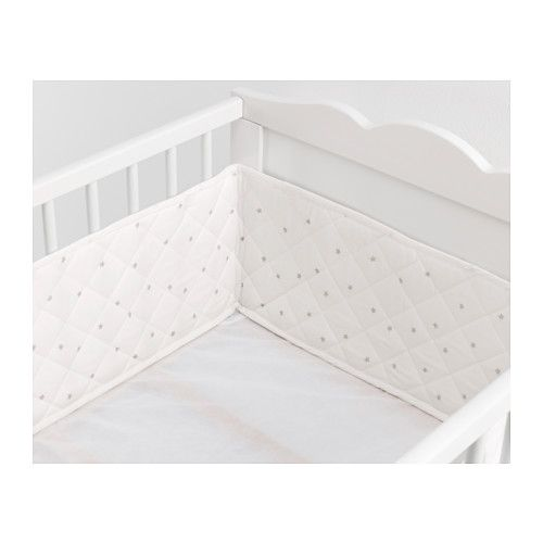 Himmelsk Per Pad Ikea With A You Can Prevent Your Baby Ping Their Head Arms Or Legs Against The Cot S Hard Spindles