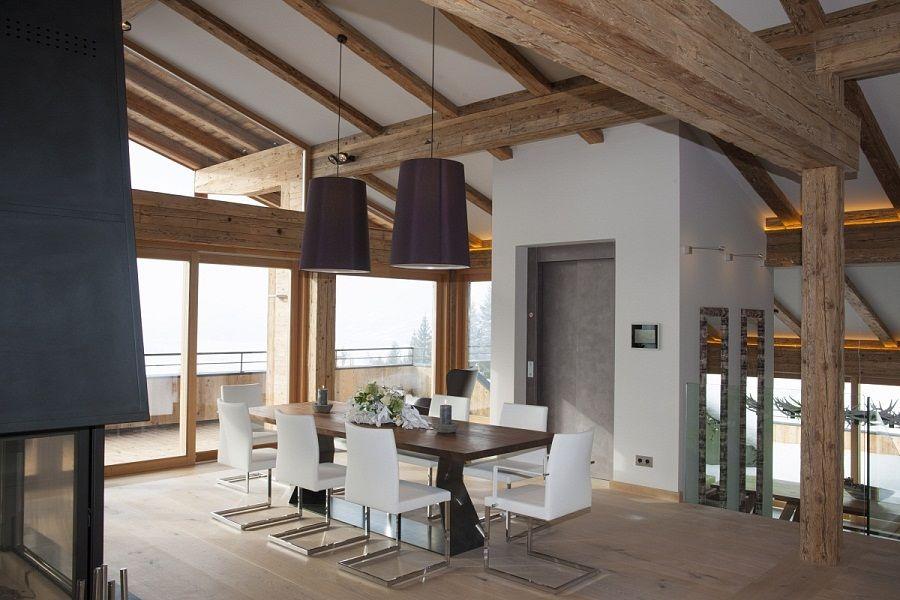 Penthouse Wohnung in Kitzbühel kaufen in eigenem Chalet mit ...