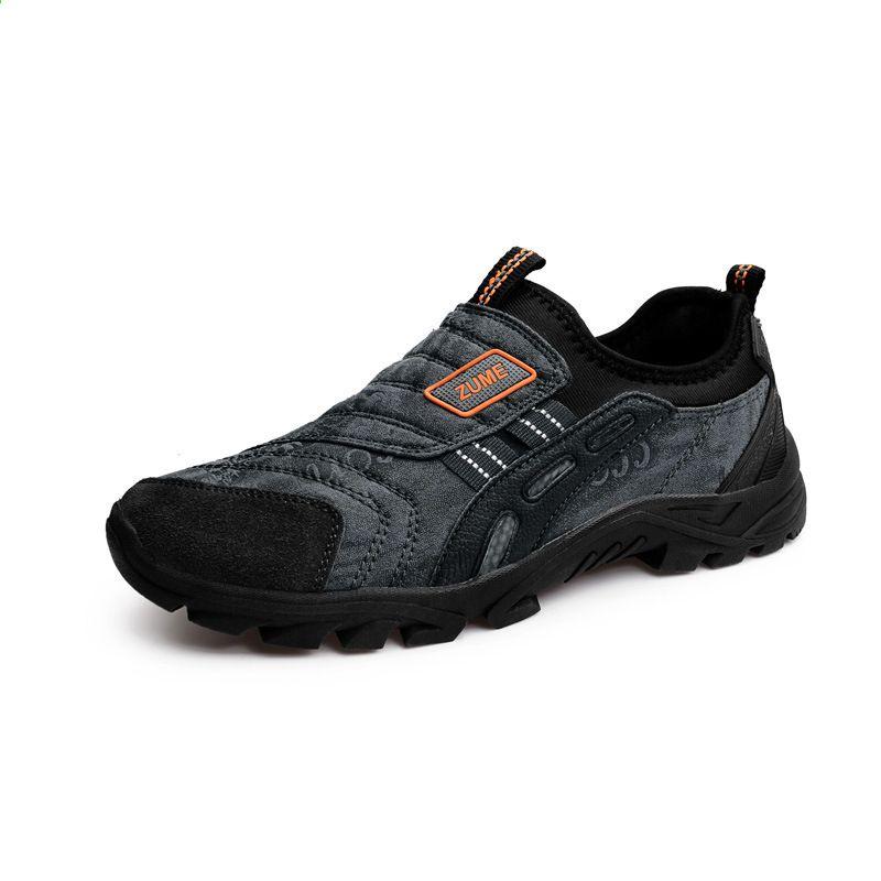 Buty Przeciwposlizgowe Dla Osob Na Swiezym Powietrzu I W Srednim Wieku Obuwie Do Biegania Odporne Na Casual Outdoor Shoes Mens Fashion Shoes Best Hiking Shoes