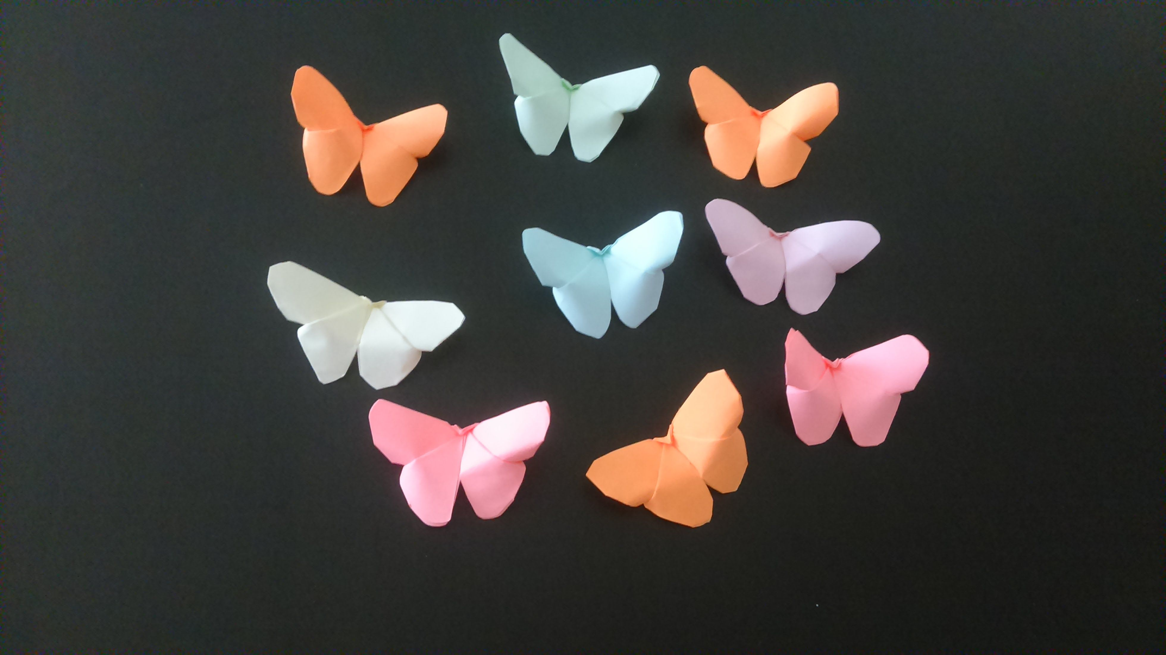 Butterfly Craft Tutorial How To Make Butterflies Easy 5 Minute