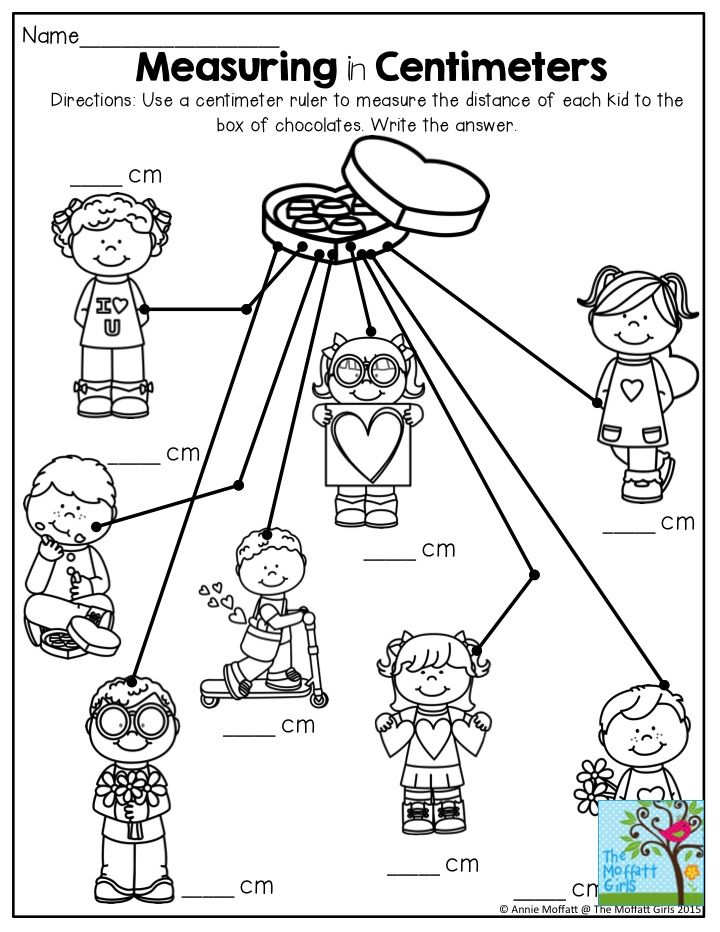 Measuring in Centimeters- TONS of interactive printables