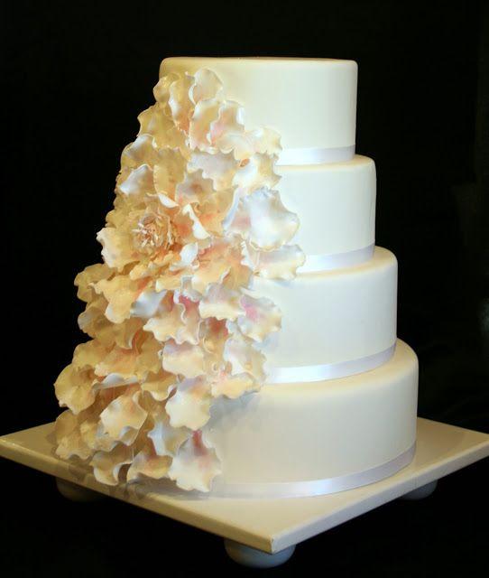 The Cake Cottage: Beautiful Blossom Wedding Cake