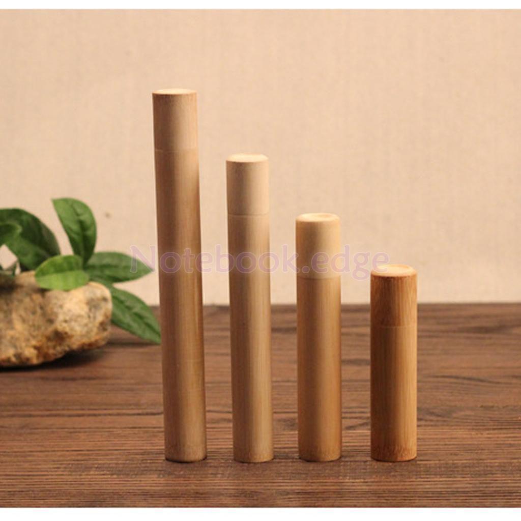Portable Tea Storage Incense Holder Tea Leaves Container Bamboo Jar Tea Box