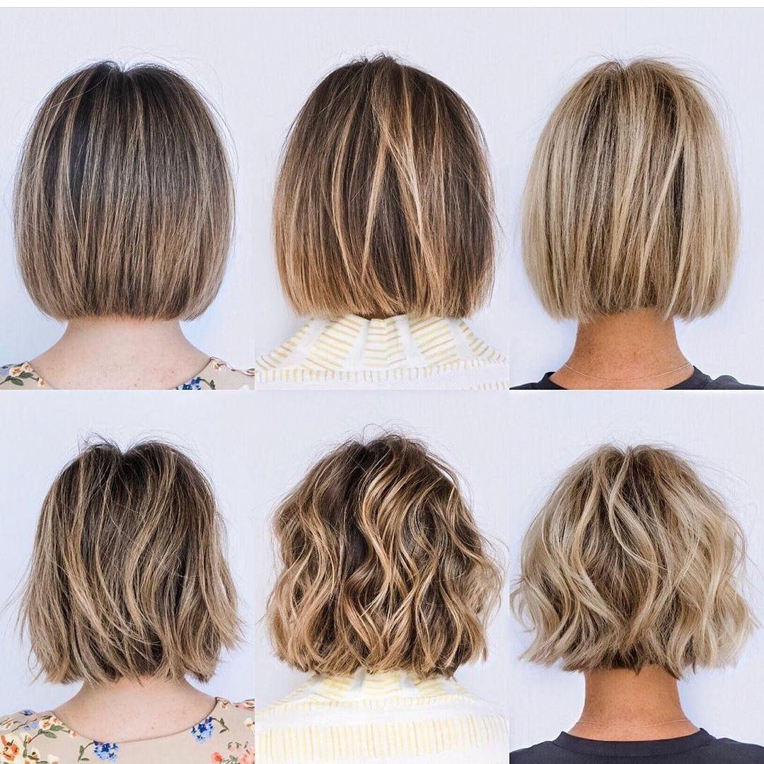 Sie rockt diesen Haarschnitt!  #kurzes Haar #bob Frisuren #bob Haarschnitt  Allg…