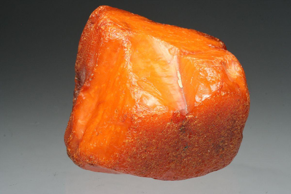 °Solid Orange Brown Amber ~ Juist Island, East Friesland, Lower Saxony, Germany