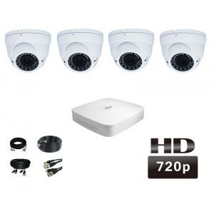 GTSv2 kant en klare bol camerasysteem HDCVI 720p