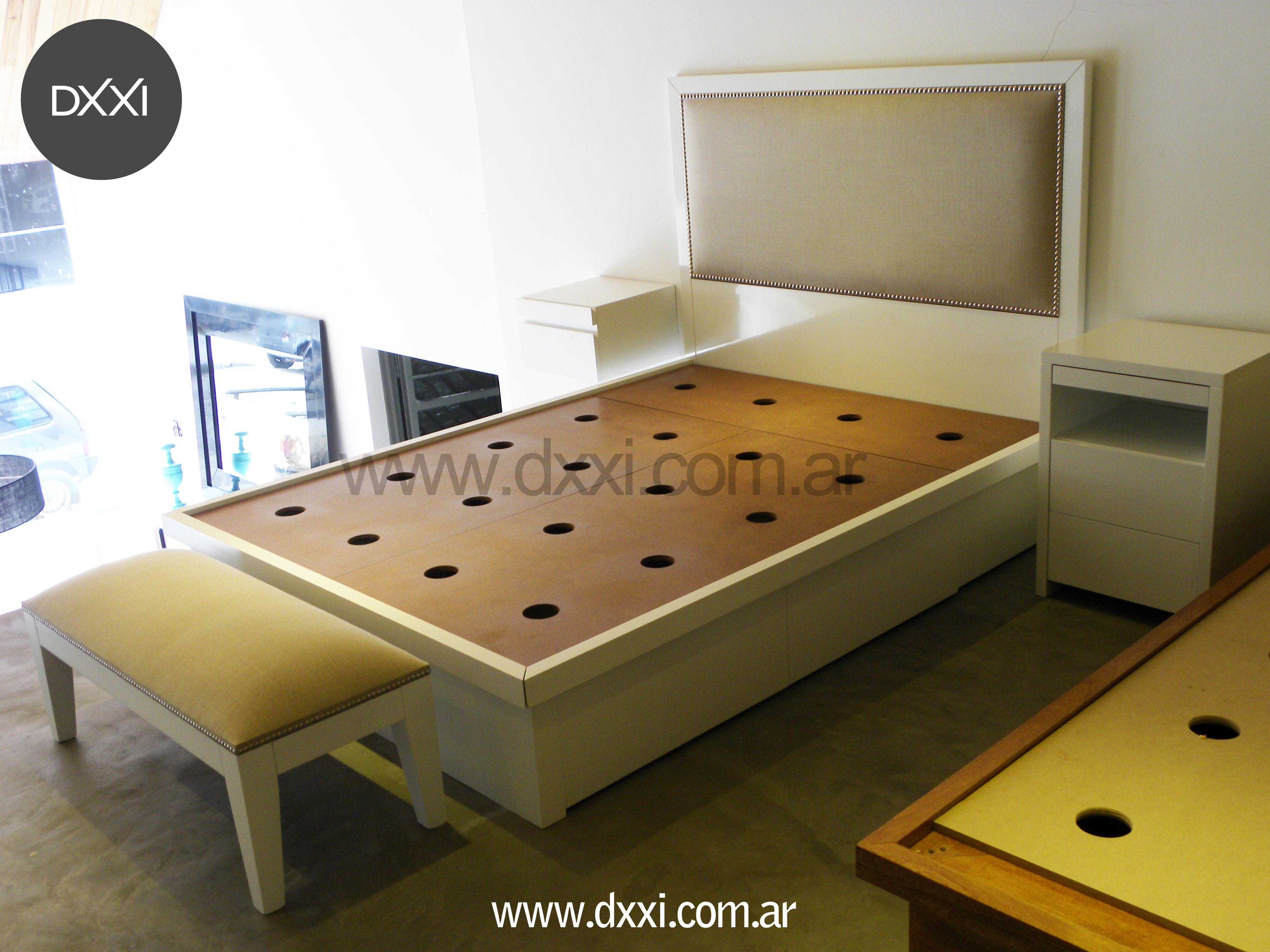 www.dxxi.com.ar #cama #bed #dormitorio #dxxi #furniture #muebles ...