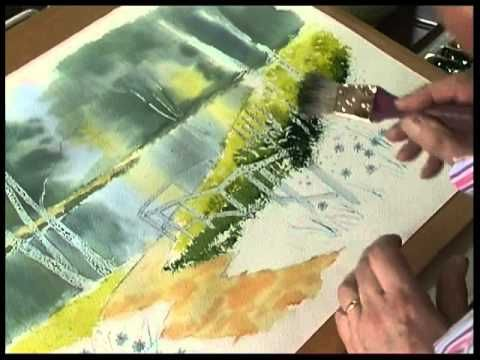 Brush With Watercolour The Dvd By Terry Harrison Youtube