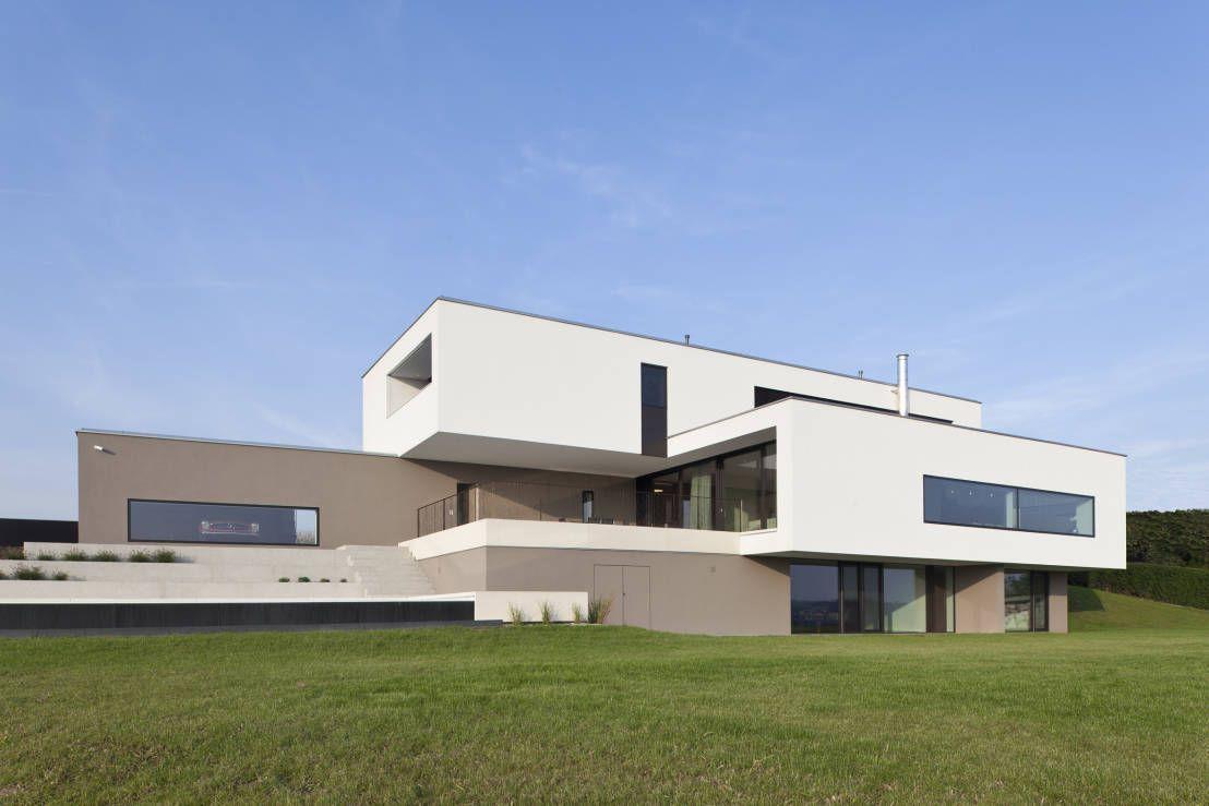 Modernes Traumhaus in kubistischer Form in Österreich | Contemporary ...