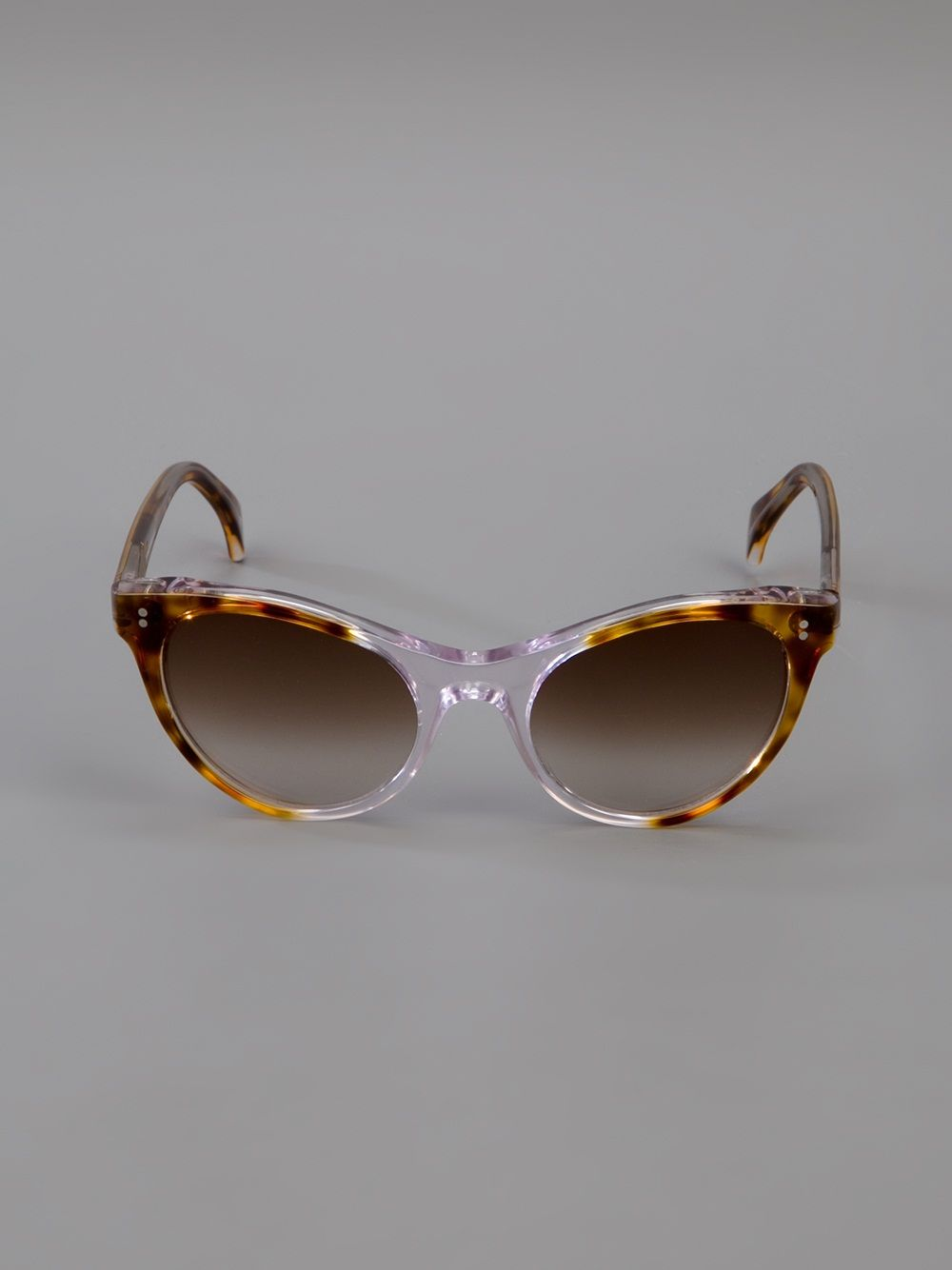 d09336bbdfd BLACK EYEWEAR  NANCY  TWO TONE SUNGLASSES farfetch from no-one available  from farfetch.com •ƒƒ•