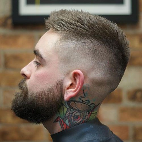 29 Best Short Hairstyles With Beards For Men 2021 Guide Cool Hairstyles For Men Mens Hairstyles Short Mens Haircuts Short
