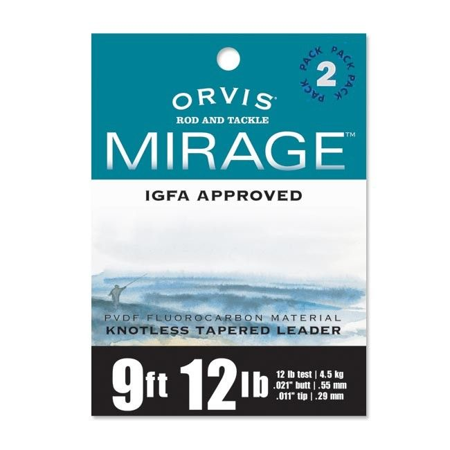 Orvis Mirage Tapered Leader 7 1 2 Ft Deliver Flies With A Smooth Turnover With This Igfa Tapered Fly Fishing Leader Fcot Fun Sports Fly Fishing Catching Fish