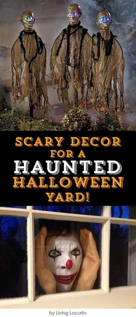 Scary Decor for a Haunted Halloween Yard! Creepy halloween