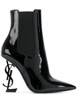 71420164bf YSL Opyum 110 Ankle Boots | Foot Fetish | Patent leather boots ...